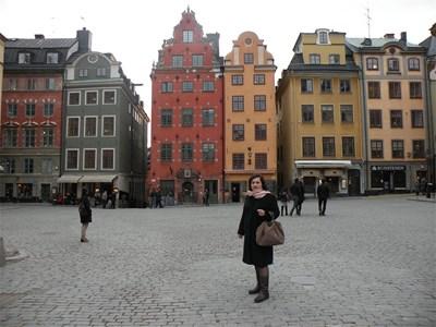 Светла Ковачева в центъра на Осло СНИМКА: ЛИЧЕН АРХИВ