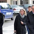 Елена Динева с адвокатите си