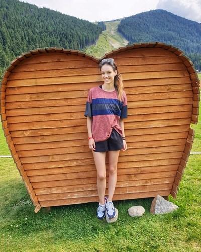 Луиза Григорова, която ще се превъплъти в ролята на човешкото съзнание.  СНИМКА: ФЕЙСБУК ПРОФИЛ НА АКТРИСАТА