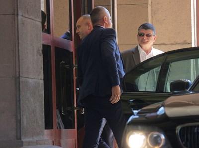 Румен Радев влиза в президентството СНИМКА: Румяна Тонева