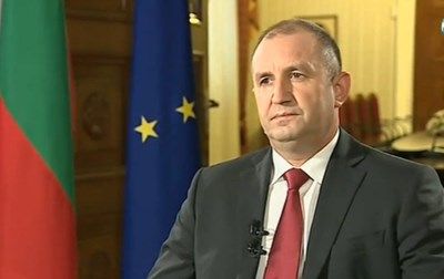 Президентът Румен Радев Кадър: Нова телевизия