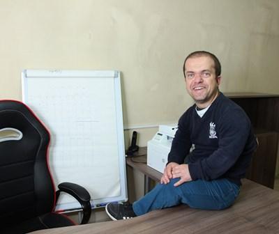 Председателят на организацията Светослав Чернев. СНИМКА: Йордан Симeонов