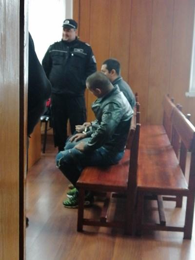 Диян Валентинов и Митко Иванов в съда