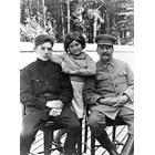 Сталин със сина си Василий и дъщеря си Светлана