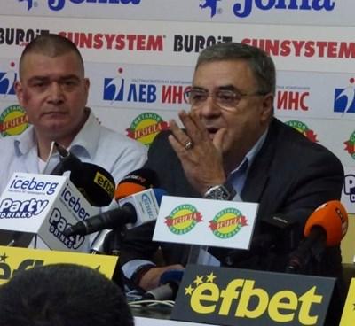 Кристиян Минковски и Георги Аврамчев