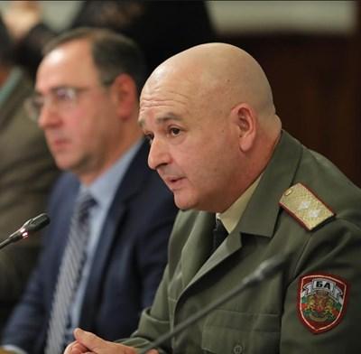 Ген. Венцислав Мутафчийски Снимки: Министерски съвет