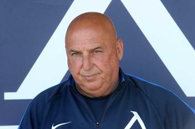 """Треньорът на """"Левски"""" Георги Тодоров. СНИМКА: SPORTAL.BG"""