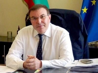 Министърът на здравеопазването проф. Костадин Ангелов СНИМКА: Архив