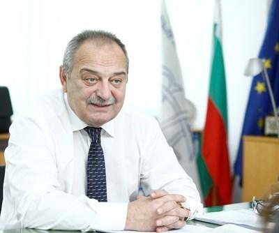 Председателят на Българския лекарски съюз Венцислав Грозев СНИМКА: Йордан Симеонов