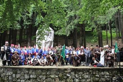 С тридневен поход Русе отбелязва 153 години от слизането на четите на Хаджи Димитър и Стефан Караджа на българския бряг