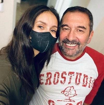 Нина с баща си в София СНИМКИ: ИНСТАГРАМ ПРОФИЛ НА АКТРИСАТА