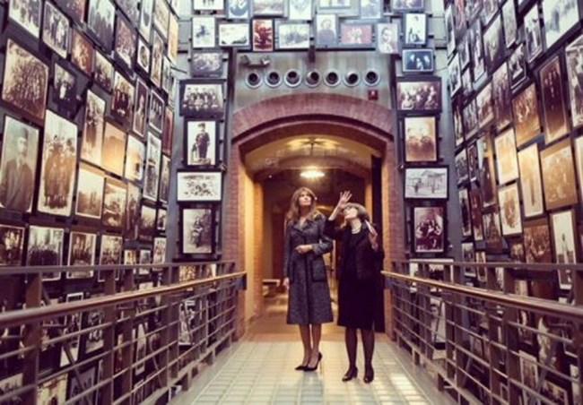 Мелания Тръмп отдаде почит на жертвите на Холокоста (Снимки ...
