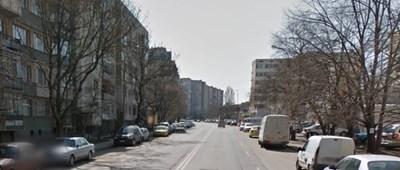 """Улица """"Тодорини кули"""", където се намират офисите на  клуба на """"Левски"""" СНИМКА: Гугъл стрийт вю"""