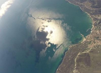 Сателитна снимка над Черно море