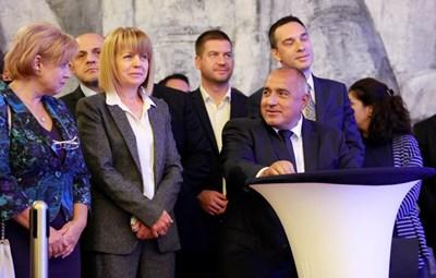 Лидерът Бойко Борисов е човекът, който ще реши кого да предложи на конференцията за овакантеното място на зам.-председател на ГЕРБ. СНИМКА: Десислава Кулелиева