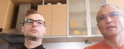 Медиците Георги Димитров и Владимир Вълев Кадър: Би Ти Ви
