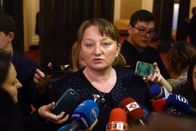 Новата социална министърка Деница Сачева обеща бърз преглед работят ли новите закони. СНИМКА: Велислав Николов