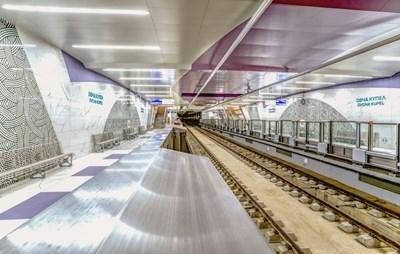 """Новият, 4-километров участък от третата линия на метрото до """"Горна баня"""" ще заработи в събота."""