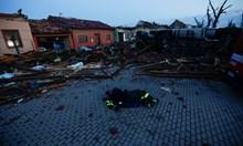 Рядко срещано торнадо удари в Югоизточна Чехия