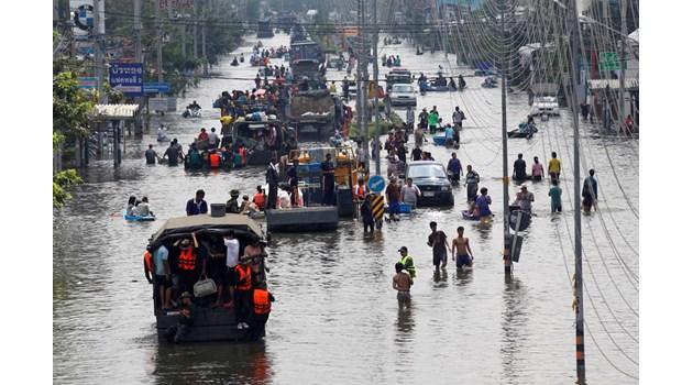 Песимистичен климатичен сценарий вдига нивото на океаните с 2 метра, 187 милиона души емигрират