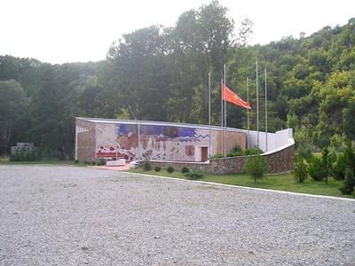 Мемориалният комплекс на АСНОМ. СНИМКА: АРХИВ