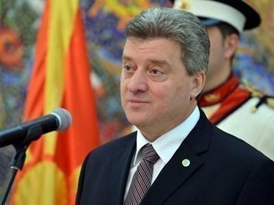 Президентът на Република Македония Георге Иванов СНИМКА: РОЙТЕРС