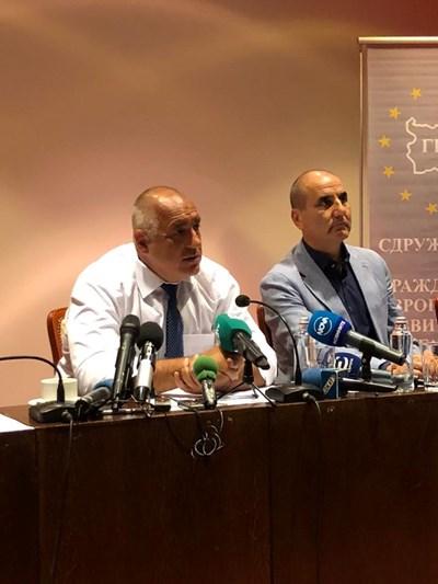 Премиерът Бойко Борисов предупреди от Варна, че ще бъде безкомпромисен при грешки. СНИМКА: ГЕРБ