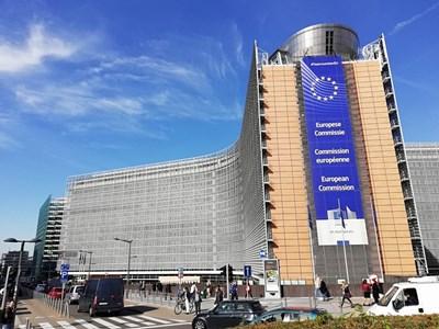 Сградата на Европейската комисия в Брюксел. СНИМКА: Пламена Томева
