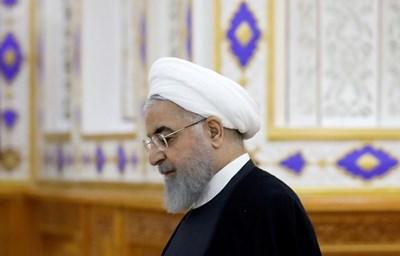 Иранският президент Хасан Рохани СНИМКА: Ройтерс