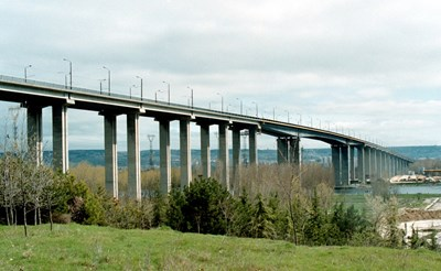 """Аспаруховият мост във Варна, от който би трябвало да почне магистрала """"Черн оморе"""""""