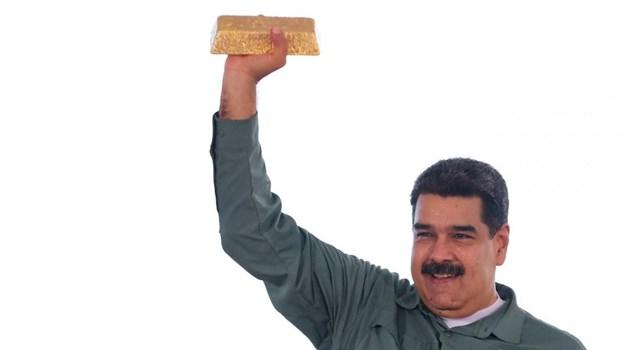 """""""Блумбърг"""": Турска компания е изнесла тонове злато от Венецуела. Според противници на Мадуро има вероятност то да е било предназначено за Русия"""