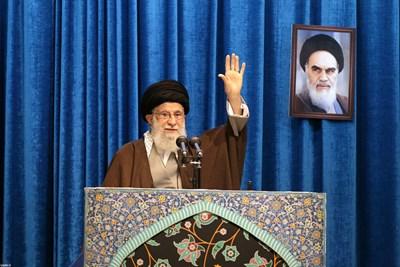 върховният лидер на Техеран аятолах Али Хаменей каза ДНЕС, че битката на Иран може да се пренесе отвъд неговите граници. Снимка РОЙТЕРС