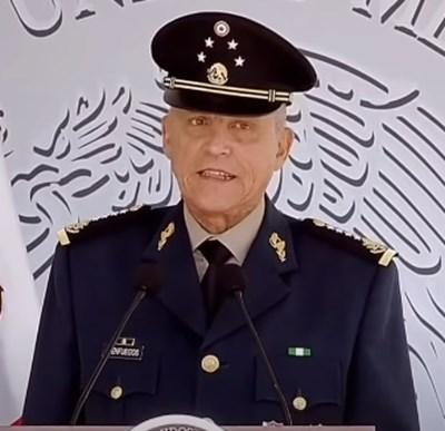 Генерал Салвадор Сиенфуегос КАДЪР: Youtube/ Noticieros Televisa