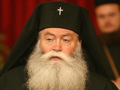 Ловчанският митрополит Гавриил. Снимка Архив