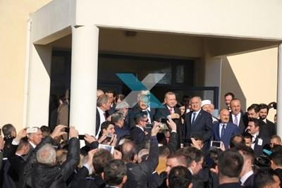 Турският президентът Реджеб Ердоган нарече мюсюлманите, живеещи в Западна Тракия мост между Турция и Гърция. СНИМКИ: xronos.gr