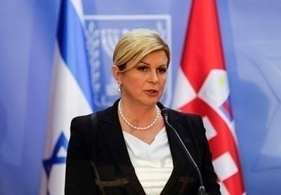 Бившият хърватски президент Колинда Грабар-Китарович СНИМКА: Ройтерс