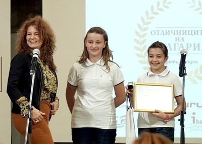 """Сестрите Сара и Мартина Илиеви  са част от """"Отличници на България""""."""