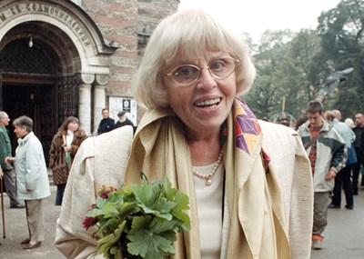 Първата директорка на Класическата гимназия Гергина Тончева.