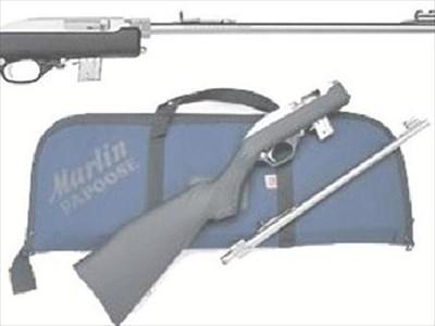 """Цевта на """"Marlin 70 PSS """" се сваля за секунди и заедно с приклада се прибира в компактен калъф, който безпроблемно влиза в багажниците на малките автомобили."""