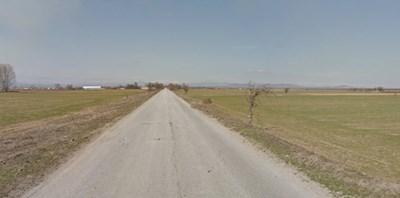 Катастрофата е станала в района на село Ивайло  СНИМКА: Гугъл стрийт вю
