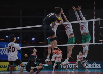 България загуби и от Япония в Лигата на нациите. Снимка: FIVB