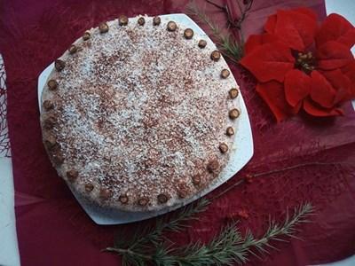 Торта с малини