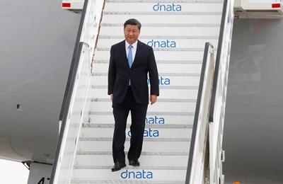Президентът Си Дзинпин се очаква в София тази година. СНИМКА: РОЙТЕРС