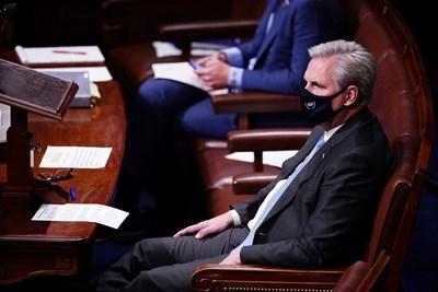 Лидерът на републиканците в Камарата на представителите на американския Конгрес Кевин Маккарти СНИМКА: Ройтерс