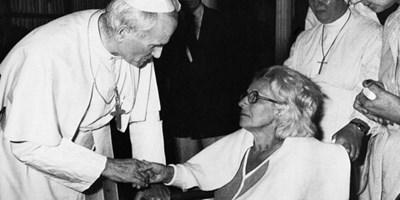 Американката Ан Одре на аудиенция с папата година след атентата СНИМКА: Архив