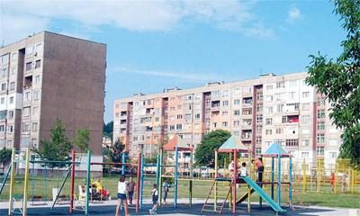 Пернишкият квартал Мошино. Там се намира апартаментът, за който не се намира купувач 3г. Снимка: Светлана Стоименова