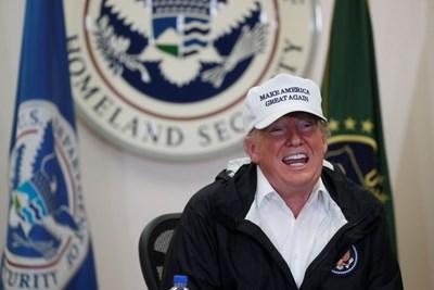 Тръмп отказа тази година участие заради блокирането на правителството и проблема със стената. СНИМКА: РОЙТЕРС
