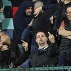 Полицията съобщи, че е задържала още петима младежи за непристойно поведение по време на мача с Англия и така общият им брой става 16. Снимка ЙОРДАН СИМЕОНОВ