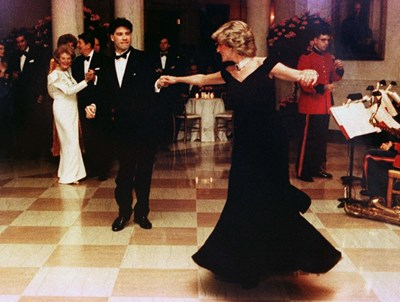 Танцът с Джон Траволта, сн. Ройтерс