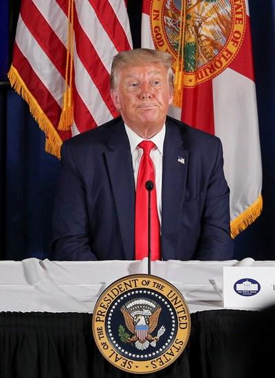 Доналд Тръмп СНИМКА: Ройтерс